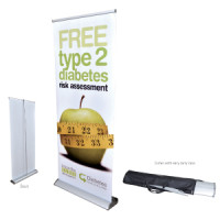 Deluxe Roll Up Banners